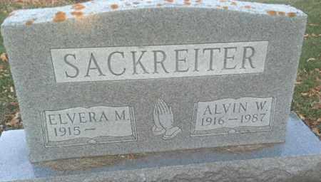 SACKREITER, ALVIN W - Codington County, South Dakota | ALVIN W SACKREITER - South Dakota Gravestone Photos