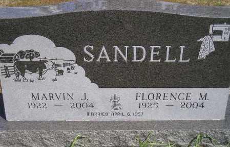 SANDELL, FLORENCE MAY - Codington County, South Dakota | FLORENCE MAY SANDELL - South Dakota Gravestone Photos