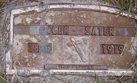 SATER, INGER - Codington County, South Dakota | INGER SATER - South Dakota Gravestone Photos