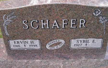 SCHAFER, ERVIN HENRY - Codington County, South Dakota | ERVIN HENRY SCHAFER - South Dakota Gravestone Photos