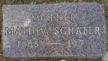 ERICKSON SCHAFER, MATHEA BENIDIGTE - Codington County, South Dakota | MATHEA BENIDIGTE ERICKSON SCHAFER - South Dakota Gravestone Photos