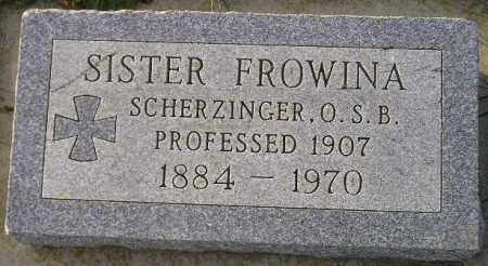 SCHERZINGER, MARIE SERAPHINA - Codington County, South Dakota | MARIE SERAPHINA SCHERZINGER - South Dakota Gravestone Photos