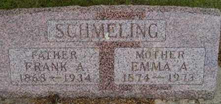 SCHMELING, EMMA A. - Codington County, South Dakota | EMMA A. SCHMELING - South Dakota Gravestone Photos
