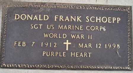 SCHOEPP, DONALD FRANK (WW II) - Codington County, South Dakota | DONALD FRANK (WW II) SCHOEPP - South Dakota Gravestone Photos
