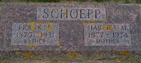 SCHOEPP, HARRIET MAUDE - Codington County, South Dakota | HARRIET MAUDE SCHOEPP - South Dakota Gravestone Photos