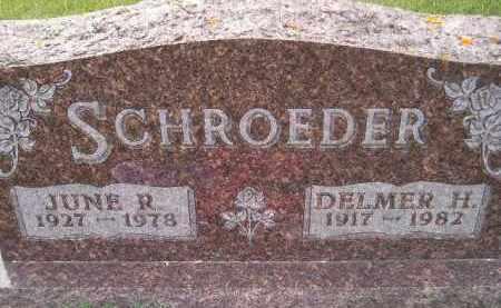 SCHULTZ SCHROEDER, JUNE ROSE - Codington County, South Dakota | JUNE ROSE SCHULTZ SCHROEDER - South Dakota Gravestone Photos