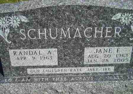 SCHUMACHER, RANDAL A. - Codington County, South Dakota | RANDAL A. SCHUMACHER - South Dakota Gravestone Photos