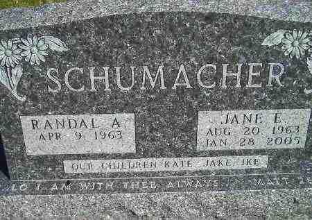 SCHUMACHER, RANDAL A. - Codington County, South Dakota   RANDAL A. SCHUMACHER - South Dakota Gravestone Photos