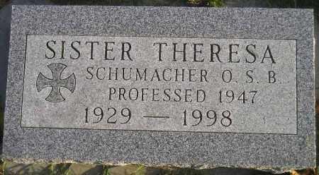 SCHUMACHER, THERESA MARIE - Codington County, South Dakota   THERESA MARIE SCHUMACHER - South Dakota Gravestone Photos