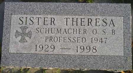SCHUMACHER, THERESA MARIE - Codington County, South Dakota | THERESA MARIE SCHUMACHER - South Dakota Gravestone Photos