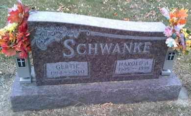 SCHWANKE, HAROLD A - Codington County, South Dakota | HAROLD A SCHWANKE - South Dakota Gravestone Photos