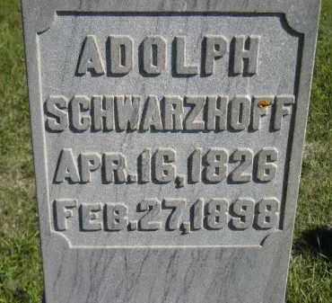 SCHWARZHOFF, ADOLPH - Codington County, South Dakota | ADOLPH SCHWARZHOFF - South Dakota Gravestone Photos