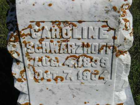 SCHWARZHOFF, CAROLINE - Codington County, South Dakota | CAROLINE SCHWARZHOFF - South Dakota Gravestone Photos
