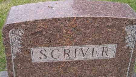 SCRIVER, FAMILY STONE - Codington County, South Dakota | FAMILY STONE SCRIVER - South Dakota Gravestone Photos