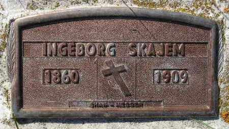 SKAJEM, INGEBORG - Codington County, South Dakota | INGEBORG SKAJEM - South Dakota Gravestone Photos