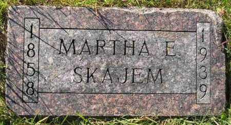 NJOS SKAJEM, MARTHA E. - Codington County, South Dakota   MARTHA E. NJOS SKAJEM - South Dakota Gravestone Photos
