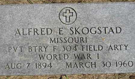 SKOGSTAD, ALFRED E. - Codington County, South Dakota | ALFRED E. SKOGSTAD - South Dakota Gravestone Photos