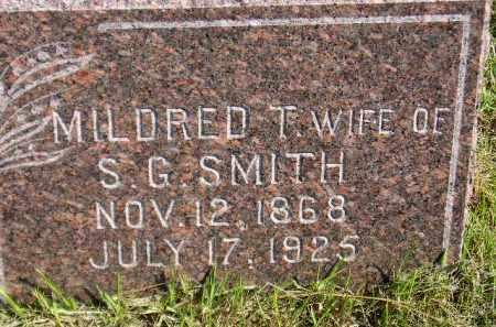 SMITH, MILDRED T. - Codington County, South Dakota | MILDRED T. SMITH - South Dakota Gravestone Photos