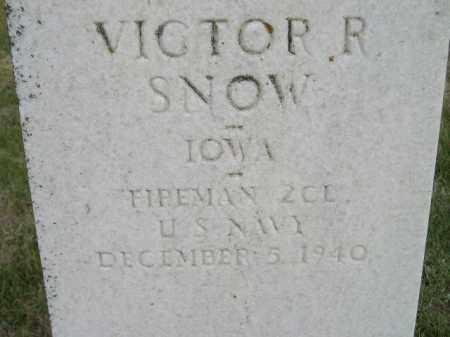 SNOW, VICTOR RAY - Codington County, South Dakota | VICTOR RAY SNOW - South Dakota Gravestone Photos