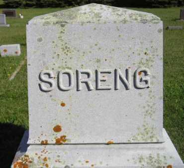 SORENG, FAMILY STONE - Codington County, South Dakota | FAMILY STONE SORENG - South Dakota Gravestone Photos