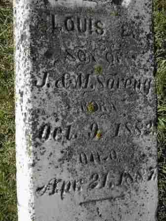 SORENG, LOUIS E. - Codington County, South Dakota | LOUIS E. SORENG - South Dakota Gravestone Photos