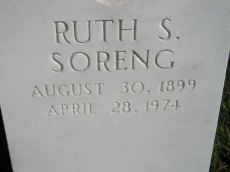 SORENG, RUTH SOPHIE - Codington County, South Dakota   RUTH SOPHIE SORENG - South Dakota Gravestone Photos