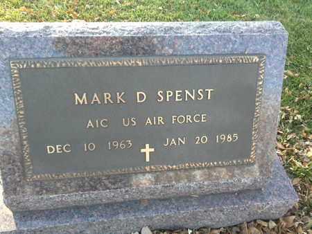 """SPENST, MARK D """"MILITARY"""" - Codington County, South Dakota   MARK D """"MILITARY"""" SPENST - South Dakota Gravestone Photos"""