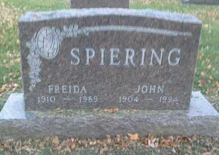 SPIERING, JOHN - Codington County, South Dakota | JOHN SPIERING - South Dakota Gravestone Photos