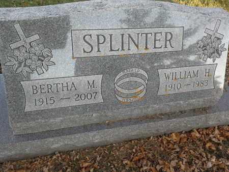 SPLINTER, WILLIAM H - Codington County, South Dakota | WILLIAM H SPLINTER - South Dakota Gravestone Photos
