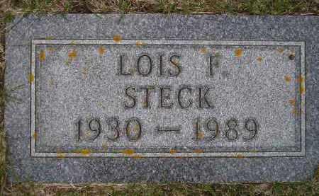STECK, LOIS F. - Codington County, South Dakota | LOIS F. STECK - South Dakota Gravestone Photos