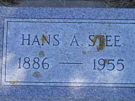 STEE, HANS A. - Codington County, South Dakota   HANS A. STEE - South Dakota Gravestone Photos