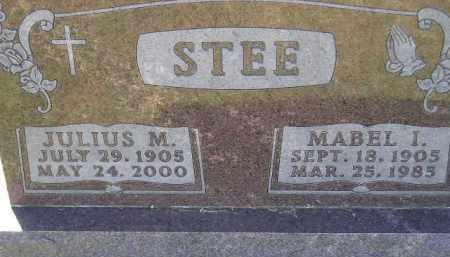 STEE, MABEL IRENE - Codington County, South Dakota   MABEL IRENE STEE - South Dakota Gravestone Photos