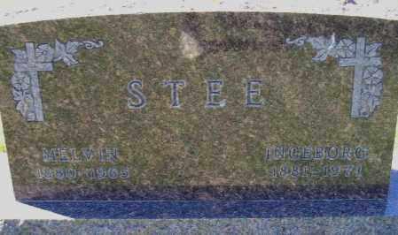 STEE, MELVIN PETER - Codington County, South Dakota | MELVIN PETER STEE - South Dakota Gravestone Photos