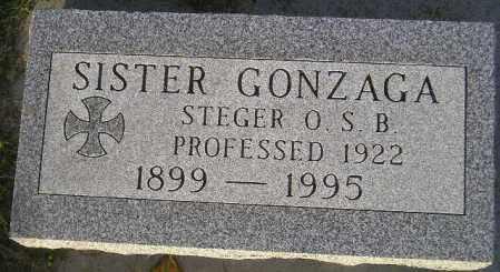 STEGER, MARIA BARBARA - Codington County, South Dakota   MARIA BARBARA STEGER - South Dakota Gravestone Photos
