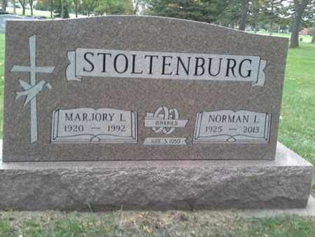 STOLTENBURG, NORMAN L - Codington County, South Dakota | NORMAN L STOLTENBURG - South Dakota Gravestone Photos