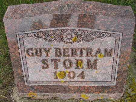 STORM, GUY BERTRAM - Codington County, South Dakota | GUY BERTRAM STORM - South Dakota Gravestone Photos