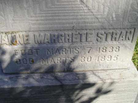STRAN, ANNE MARGRETE - Codington County, South Dakota | ANNE MARGRETE STRAN - South Dakota Gravestone Photos