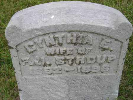 STRAIGHT STROUP, CYNTHIA ELIZA - Codington County, South Dakota | CYNTHIA ELIZA STRAIGHT STROUP - South Dakota Gravestone Photos