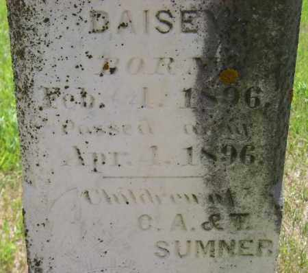 SUMNER, DAISEY - Codington County, South Dakota   DAISEY SUMNER - South Dakota Gravestone Photos
