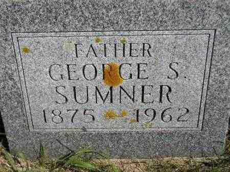 SUMNER, GEORGE S. - Codington County, South Dakota   GEORGE S. SUMNER - South Dakota Gravestone Photos
