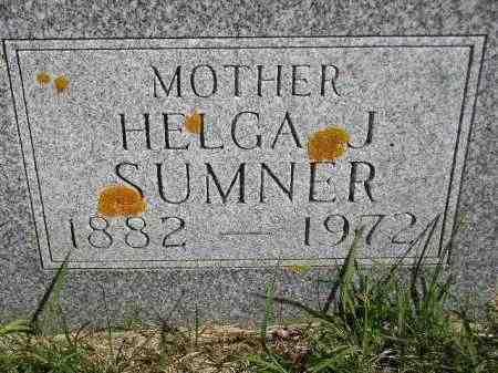 SUMNER, HELGA (HELEN) J. - Codington County, South Dakota   HELGA (HELEN) J. SUMNER - South Dakota Gravestone Photos