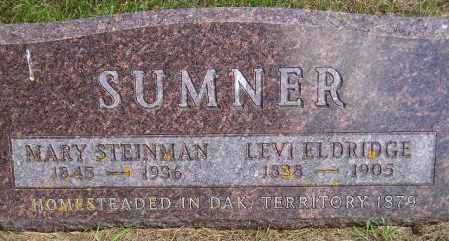 SUMNER, LEVI ELDRIDGE - Codington County, South Dakota | LEVI ELDRIDGE SUMNER - South Dakota Gravestone Photos