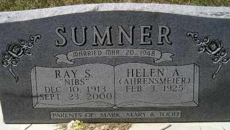 "SUMNER, RAY SOROLD ""NIBS"" - Codington County, South Dakota | RAY SOROLD ""NIBS"" SUMNER - South Dakota Gravestone Photos"