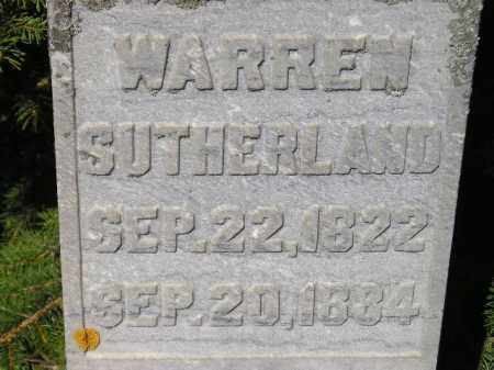 SUTHERLAND, WARREN - Codington County, South Dakota | WARREN SUTHERLAND - South Dakota Gravestone Photos