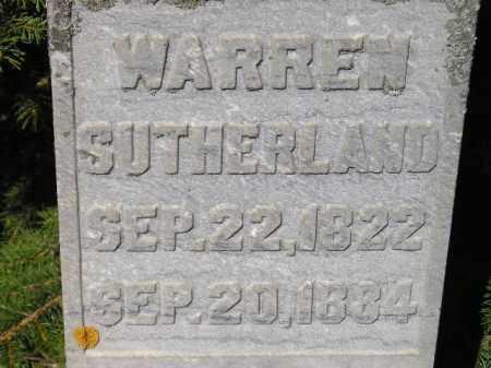 SUTHERLAND, WARREN - Codington County, South Dakota | WARREN SUTHERLAND - South Dakota Gravestone Photos