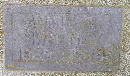 SWEENEY, ANNIE M. - Codington County, South Dakota   ANNIE M. SWEENEY - South Dakota Gravestone Photos
