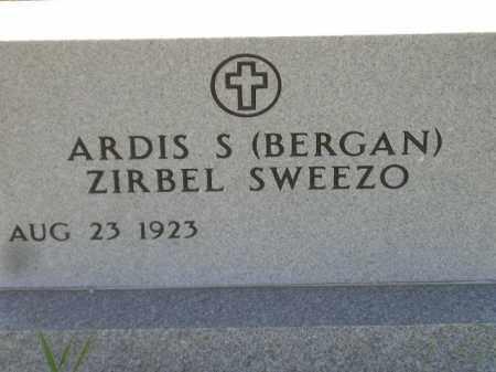 BERGAN-ZIRBEL SWEEZO, ARDIS S. - Codington County, South Dakota   ARDIS S. BERGAN-ZIRBEL SWEEZO - South Dakota Gravestone Photos