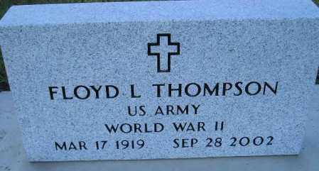 THOMPSON, FLOYD L. - Codington County, South Dakota | FLOYD L. THOMPSON - South Dakota Gravestone Photos