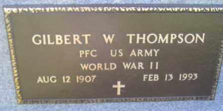 THOMPSON, GILBERT W. - Codington County, South Dakota | GILBERT W. THOMPSON - South Dakota Gravestone Photos