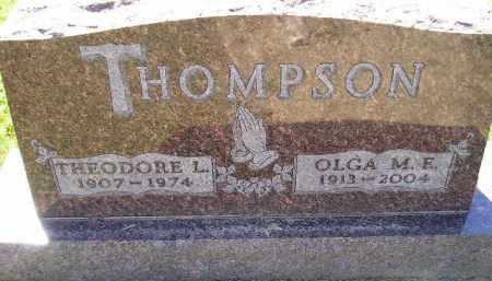 THOMPSON, THEODORE LEONARD - Codington County, South Dakota | THEODORE LEONARD THOMPSON - South Dakota Gravestone Photos